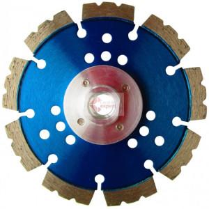 Disc DiamantatExpert pt. Beton armat & Piatra - Speed Wave 125xM14 (mm) Super Premium - DXDH.2050.125-Flansch