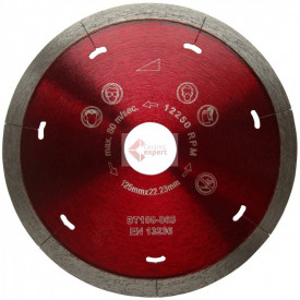 Disc DiamantatExpert pt. Ceramica Dura & Portelan - Rapid 180x22.2 (mm) Super Premium - DXDH.3907.180