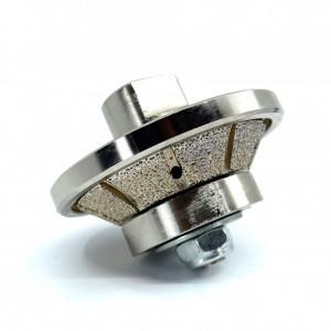 Freza Diamantata Bizot 45 grade - Inaltime 8mm pt. Marmura, Granit si Gresie - DXDY.BVL.H8D65