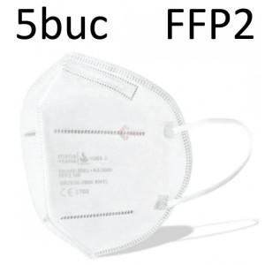 Masca de protectie respiratorie FFP2 (blister cu 5 bucati masti)