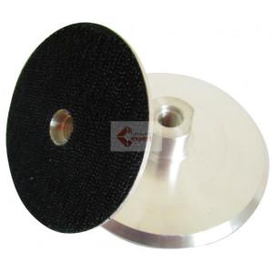 Suport rigid pt. dischete / paduri diamantate cu velcro 100m - prindere M14 - DXDH.23007.100.U-Alu