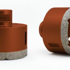 Carota diamantata pt. gresie portelanata & piatra - diam. 100mm - Profesional Standard - DXDY.REDrill.100