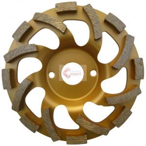 """Cupa diamantata """"ventilator"""" - Beton & Abrazive 125x22.2mm Premium - DXDH.4412.125"""