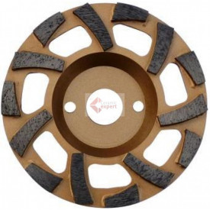 "Cupa diamantata ""ventilator"" - Beton dur & Abrazive 180x22.2mm Premium - DXDH.4612.180.fla"