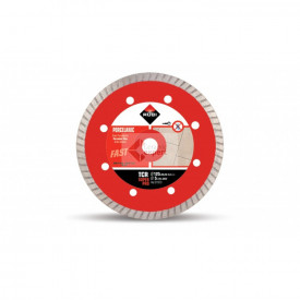 Disc diamantat pentru gresie portelanta Rubi TCR 125 PRO - taiere uscata
