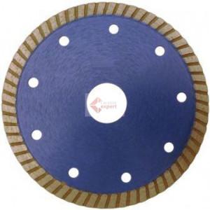 Disc DiamantatExpert pt. Gresie ft. dura, Portelan dur, Granit- Turbo 125x22.2 (mm) Super Premium - DXDH.3957.125.22