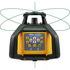 Nivela Rotativa Laser Verde - cu afi?area digitala a diferen?elor - NL600G-Digital - Nivel System