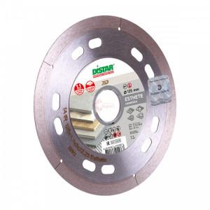 Disc Diamantat DiStar pt. Taieri Foarte Precise in Portelan dur, 125x22.2 (mm) Ultra Premium - 1A1R-125-ESTHETE