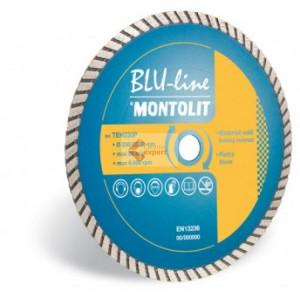 Disc diamantat Montolit TEH115 - taiere uscata - pt. materiale de constructii