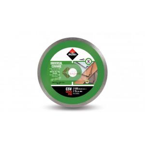Disc diamantat pt. placi ceramice 125mm, CSV 125 SuperPro - RUBI-30883