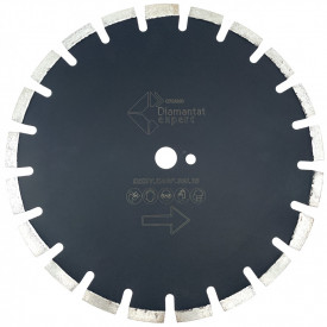Disc DiamantatExpert pt. Asfalt, Caramida & Abrazive 350mm Profesional Standard - DXDY.EASF.350.25