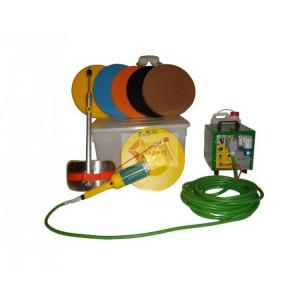 Drisca electrica - Finisare umeda tencuieli si gleturi mecanizate, cu cutie de accesorii - LS-SM22
