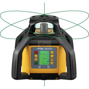 Nivela Rotativa Laser Verde - cu afi?area digitala a diferen?elor - NL610G-Digital - Nivel System