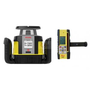Set Nivela Laser Rotativa Rugby CLI cu CLX900 - Leica-6012286