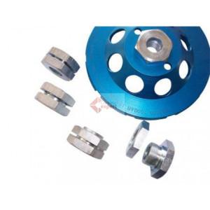 Adaptor 22,2mm in M14 - pentru cupe diamantate sau discuri cu interior de 22,2mm - DXDH.80607