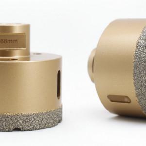 Carota diamantata pt. gresie portelanata & piatra - diam. 68mm - Premium - DXDY.GOLDrill.68