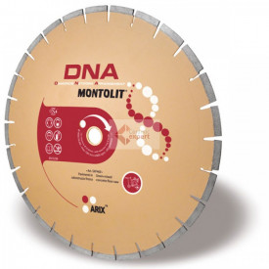 Disc diamantat Montolit DNA SXF400 - taiere cu apa - pt. beton proaspat