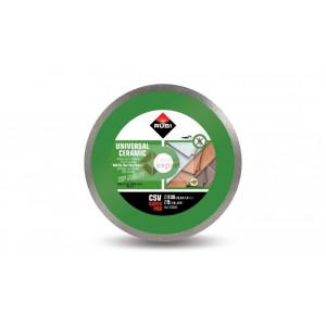 Disc diamantat pt. placi ceramice 230mm, CSV 230 SuperPro - RUBI-30888