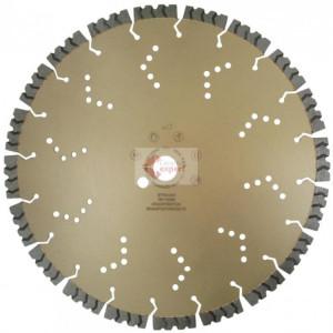Disc DiamantatExpert pt. Beton armat extrem de dur & piatra - SHARK 400x20 (mm) Super Premium - DXDH.2040.400.20