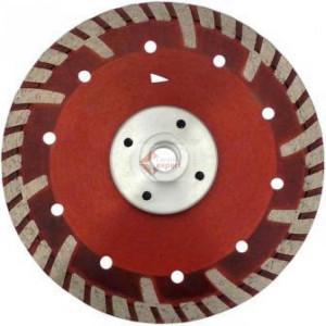 Disc DiamantatExpert pt. Beton armat & Granit - cu flansa 115xM14 (mm) Super Premium - DXDH.2287.115-Flansch