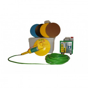Drisca electrica - Finisare umeda tencuieli si gleturi mecanizate, cu cutie de accesorii - LS-SV18