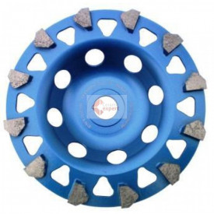 "Cupa diamantata segment ""sageti"" - Beton/Acoperiri 125x22.2mm Premium - DXDH.4997.125"