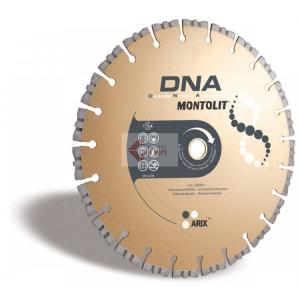 Disc diamantat Montolit DNA LXR400 - taiere uscata - pt. beton, materiale abrazive, etc.