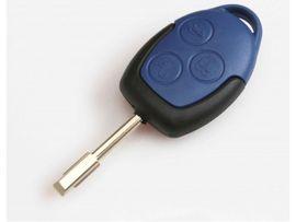 Carcasa Cheie Ford Transit 3 butoane Albastra