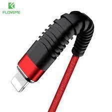 Cablu USB Iphone Lightning 2M Textil Rosu Premium