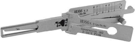 Decodor Lishi 2in1 HU66 V3 ( Generatia 1 si 2)