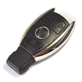 Carcasa Cheie SmartKey Mercedes 3 Butoane Model Cromat 2011