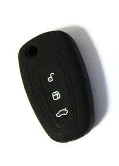 Husa Silicon Cheie Briceag Ford Focus 3 Butoane Neagra