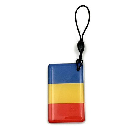 Cartela Interfon Tag EM4305 Clonabil din Epoxy - SET 10 Bucati - ROMANIA