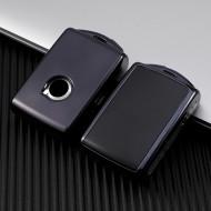 Husa Cheie Auto VOLVO XC90 XC60 XC40 Smartkey TPU+PC NEAGRA