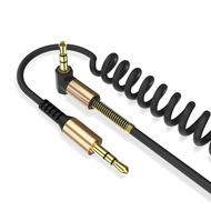 Cablu Audio Jack 3.5 1.8M Spiralat