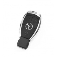 Carcasa Cheie Smartkey Mercedes Benz 3 butoane Model Cromat