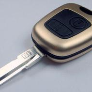 Carcasa Cheie Peugeot 206 2 Butoane Culoarea GOLD