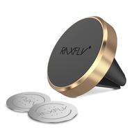 Suport Magnetic Gold pentru Grila Ventilatie, SmartPhone iPhone/Huawei/Xiaomi/Samsung/Sony Auto