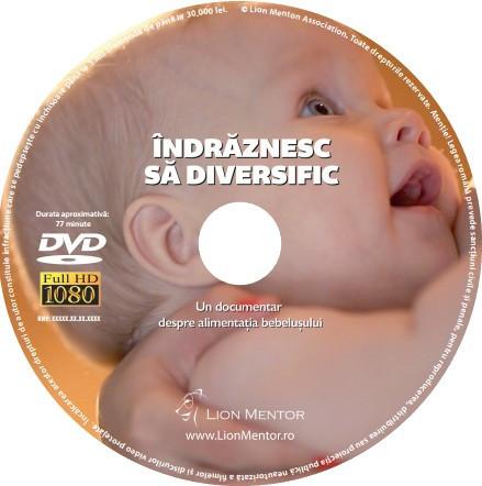 """DVD """"ÎNDRĂZNESC SĂ DIVERSIFIC"""""""