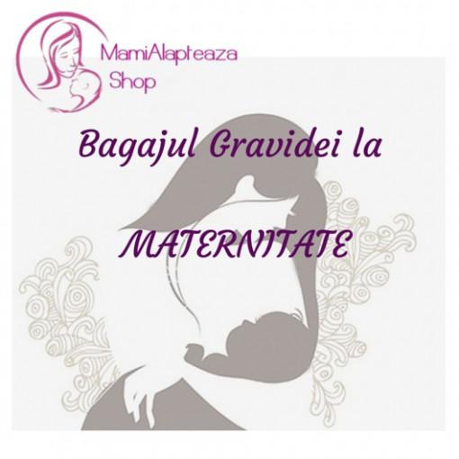 Bagaj pentru maternitate BAZIC - geanta inclusa