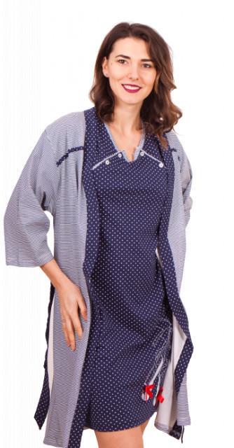 Set cămaşă de noapte pentru alăptat funta