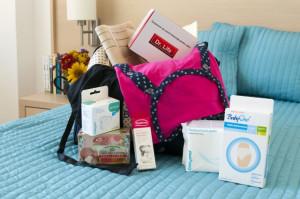 Bagaj pentru maternitate VIP - geanta inclusa