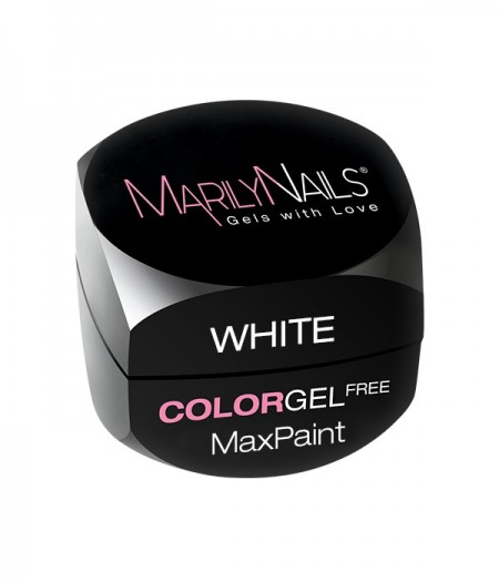 MAXPAINT COLOR GEL FREE - WHITE kép
