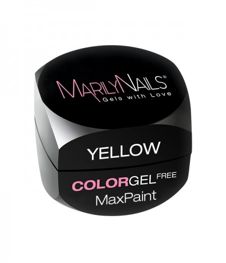 MAXPAINT COLOR GEL FREE - YELLOW kép