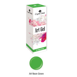 Új! Art Gel sűrű festőzselé - Art Neon Green (5ml) kép