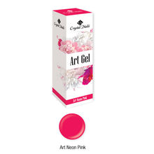 Új! Art Gel sűrű festőzselé - Art Neon Pink (5ml)