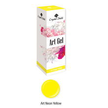 Új! Art Gel sűrű festőzselé - Art Neon Yellow (5ml)