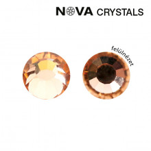 NOVA CRYSTAL STRASSZKŐ - LIGHT PEACH SS3 (1,4 MM)