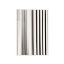MAGIC STRIPES STICKER - BLACK