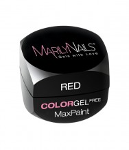 MAXPAINT COLOR GEL FREE - RED